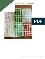Pietre Coniche Cristallo colori opal e matt