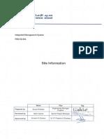 PRD-ES-003 - Site Information - R1