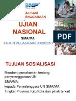 Bahan Sosialisasi UN & SMAMA 2009