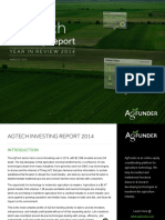 AgFunder AgTech Investing Report 2014