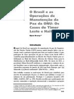 o Brasil e as Operações