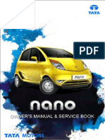 TATA Nano Owners Manual