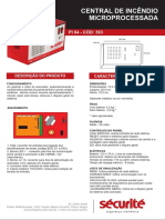 Manual Central de incendio pi64