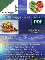 Tehnologija Voća i Povrća