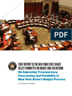 Improving Transparency, Forecasting and Flexibility in New York State's Budget Process