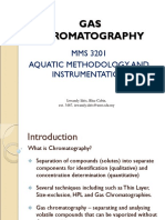 Lecture 10 - Gas Chromatography