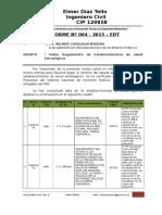 INFORME 04-2013_seguimeinto de Pips de Salud
