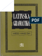 Veljko Gortan, Oton Gorski, Pavao Pauš - Latinska gramatika