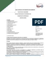 Spa Construcciones 2015-II