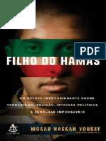 Filho Do Hamas - Mosab Hassan Yousef