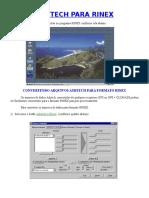 Converter Do Formato Ashtech Para Rinex