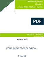 Apresentação - ET Tecnologia e Sociedade