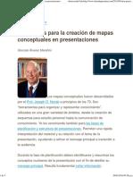 Siete Pasos Para La Creación de Mapas Conceptuales