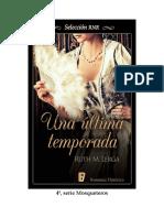 4) Una-última-termporada - (Mosqueteros) - Ruth M. Lerga