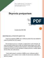 Depresia Postpartum ppt