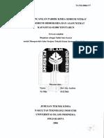 Uii Skripsi Pra Rancangan Pabrik 01521068 DWI ADE ANDIRIO 7677999264 Dwi Ade Andirio