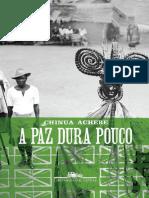A Paz Dura Pouco - Chinua Achebe