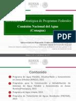 Informción Estraégica de Programas Federalesconagua_3 Feb 15