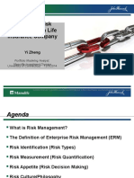 Enterprise Risk Management in Life Insurance Company_Yi Zheng