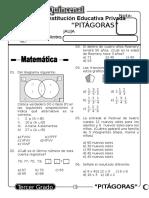 Examen Quincenal (11) 3er Grado 14-09-09