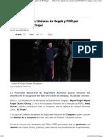 11-01-16 Congreso citará a titulares de Segob y PGR por recaptura de 'El Chapo'