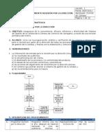 Procedimiento RSD ISO 9000