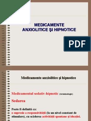 sedative medicamente