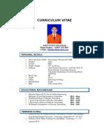 Curriculum Vitae Mr. Iskandar