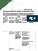Planificacion modulo II est. soc. 1° Media