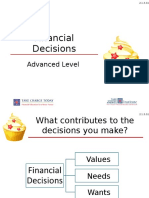 financial decisions powerpoint 2 1 3 g1