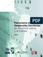 Panorama Del Desarrollo Territorial