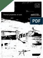 Thermal Properties of Soils - CRREL
