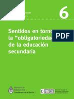 Obligatoriedad Educacion Secundaria