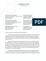 Net Metering Letter to Conference Committee