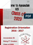 course selection rising 9th 2016 - website