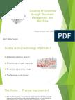 WI DGS 15 Presentation - Creating Efficiencies Through Document Management and Workflow - Borth
