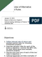 L2 Alternative Investment Rules Basics 1pp