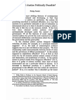 Pettit, P. - Is Criminal Justice Politically Feasible