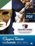 Teatro Verdi 2015 2016 Castel San Giovanni