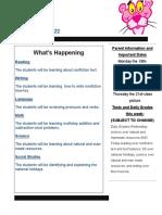 newsletter jan  18-22