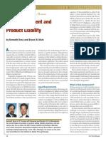 2-RiskAssessmentandProductLiability
