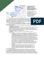 Comentario Del Mapa de Las Precipitaciones Medias Anuales en España