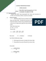 Praktikum Kimia Laju Reaksi
