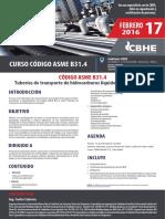 Curso Código Asme b31.4
