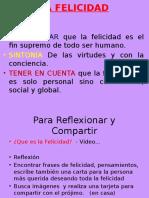 Etica General (10) Felicidad