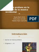 _El Canto Profano en La Historia de La Música Occidental (1)