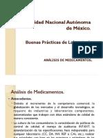 Buenas Prácticas de Laboratorio_Análisis de Medicamentos