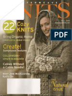 Interweave Knits 2009 Fall