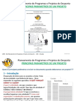 3-GPPD -Parametros de Um Projeto