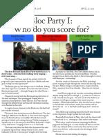 soccer newsletter april 27 2013